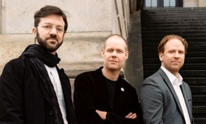André de Ridder, Max Richter and Daniel Hope
