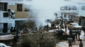 Felas_House_AKA_Kalakuta_Republic_being_burnt_by_the_NPF_and_Military_1977